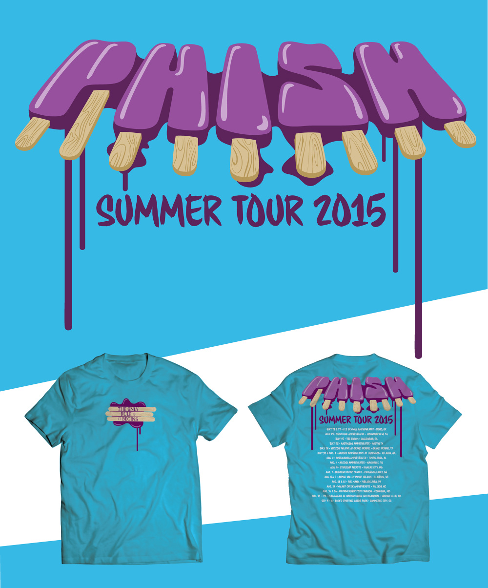 Summer Tour Shirts